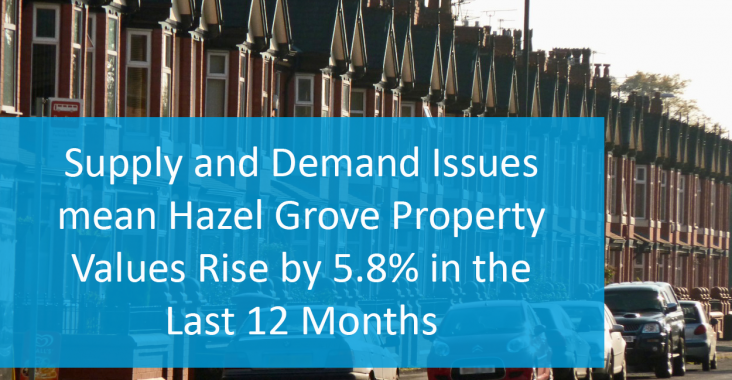 Hazel Grove property prices