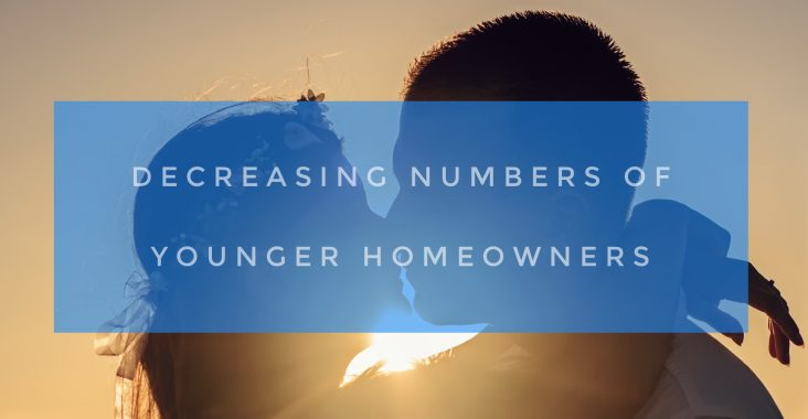 Decreasing numbers of younger homeowners