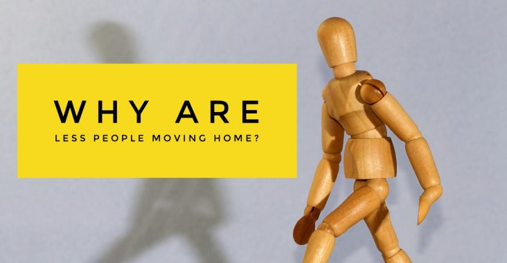 Why are less people moving home?