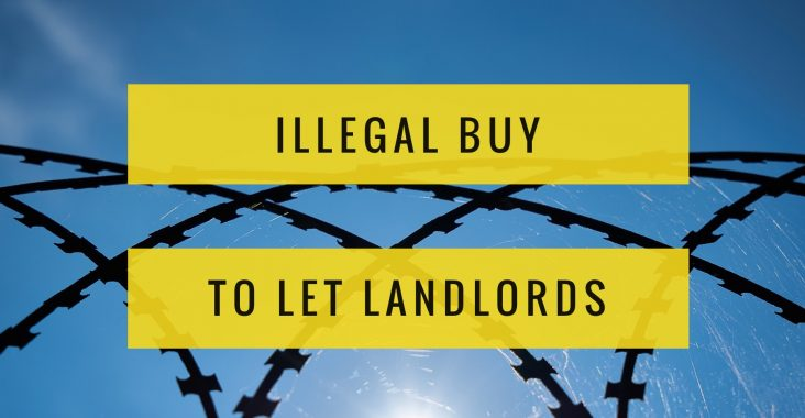 Illegal buy to let landlords