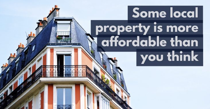 Some Local Property Is More Affordable Than You Think