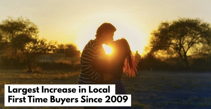Largest Increase In Local First Time Buyers Since 2009