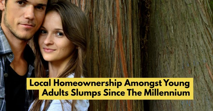Local HomeOwnership Amongst Young Adults Slumps Since The Millennium